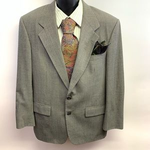 Bill Blass Vintage Sport Coat SELECT Houndstooth